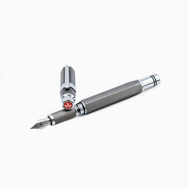 TWSBI Precision Gun Metal Fountain Pen