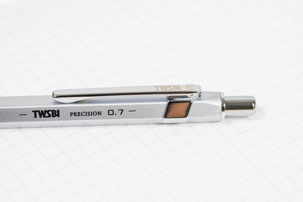 TWSBI Precision Mechanical Pencil Silver