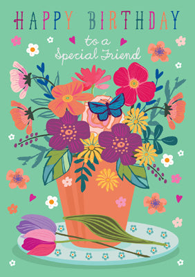 57AS56 - Special Friend Birthday Card