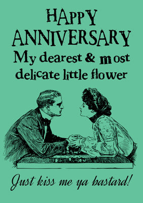 57CL38 - Delicate Little Flower Anniversary Card