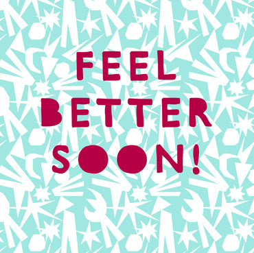 BEA140 - Feel Better Soon Greeting Card