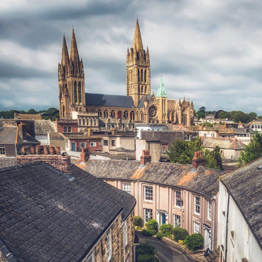 CC174 - Truro Cathedral Spires Greeting Card