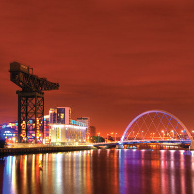 CS120 - River Clyde Glasgow Greeting Card