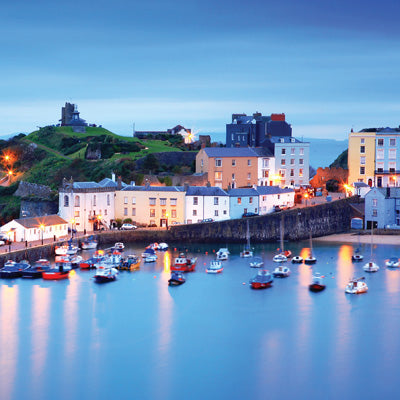 CW145 - Tenby Harbour Greeting Card