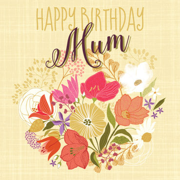 GED102 - Happy Birthday Mum
