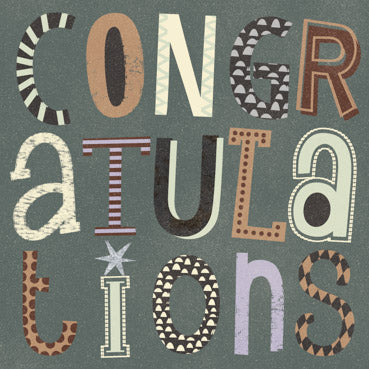 GED107 - Congratulations Greeting Card