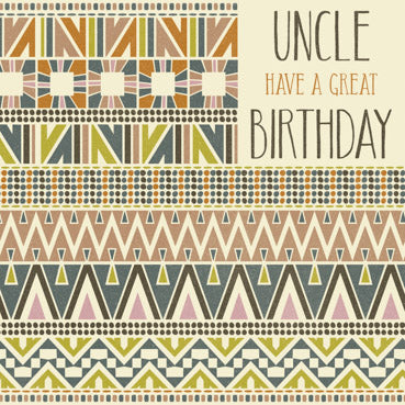 GED115 - Uncle Birthday Card