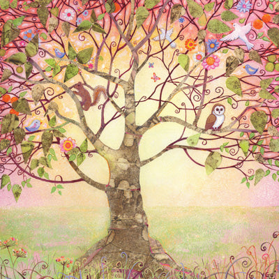 HM130 - The Tree of Life Greeting Card