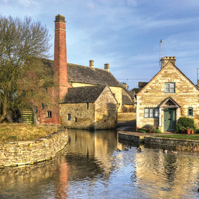 L261 - Lower Slaughter Cotswolds Greeting Card