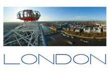 Load image into Gallery viewer, LDN-006 - London from the London Eye Panoramic Postcard