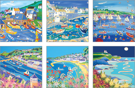 NC-JDG502 - John Dyer Gallery (Pack 2) Notecard Pack (6 designs in pack)