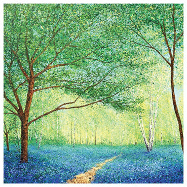 RT119 - Scent of Bluebells Greeting Card