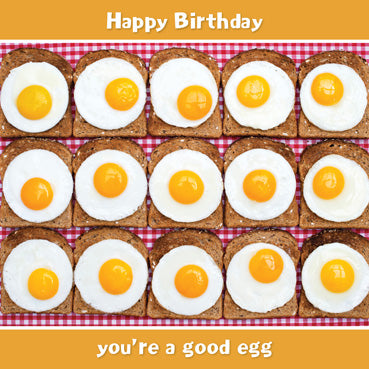 SD101 - Good Egg Birthday Card