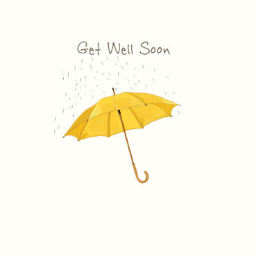 SP119 - Get Well Soon (Umbrella) Greeting Card