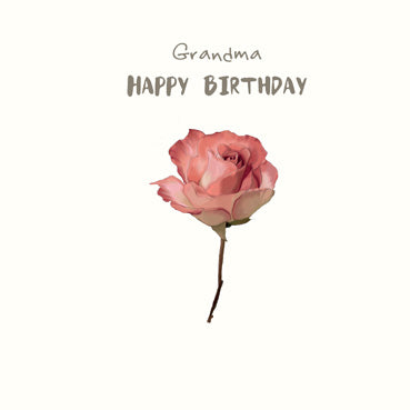 SP149 - Grandma Happy Birthday (Flower)