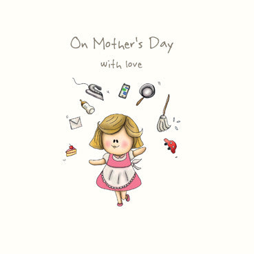 SP169 - On Mother's Day (Juggling) Mother's Day Card