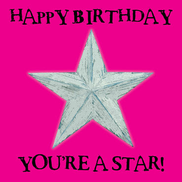 WOW112 - You're a Star Birthday Card