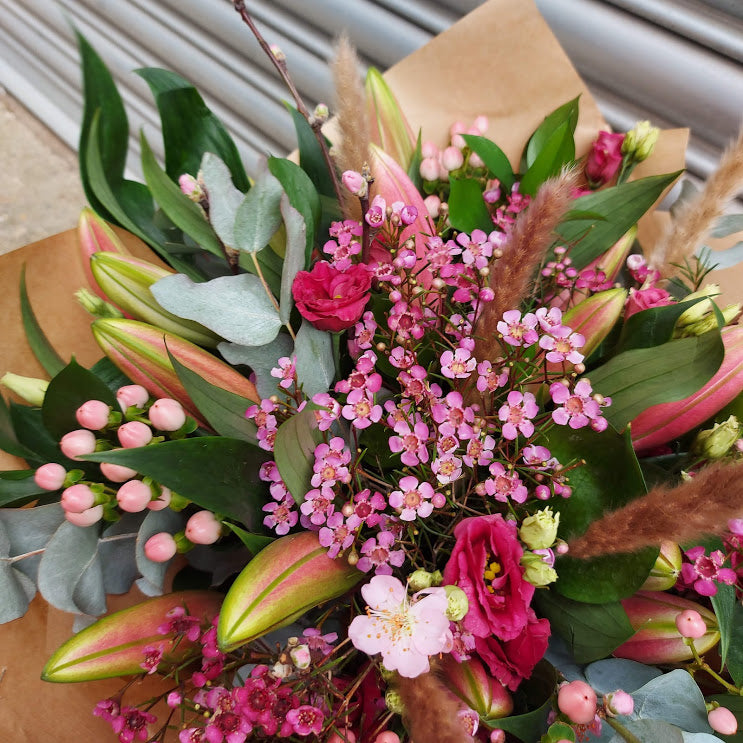 Luxury Pink Lilly Bouquet