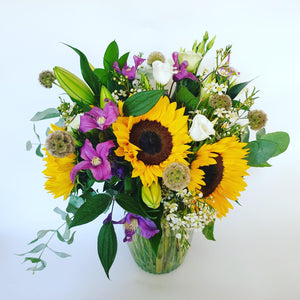 The 'Eliza' Bouquet with Vase