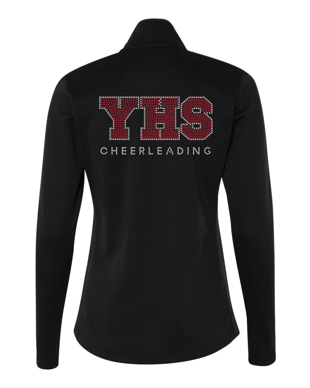 Custom Order Cheer Gear - Black Jackets with Rhinestone Design