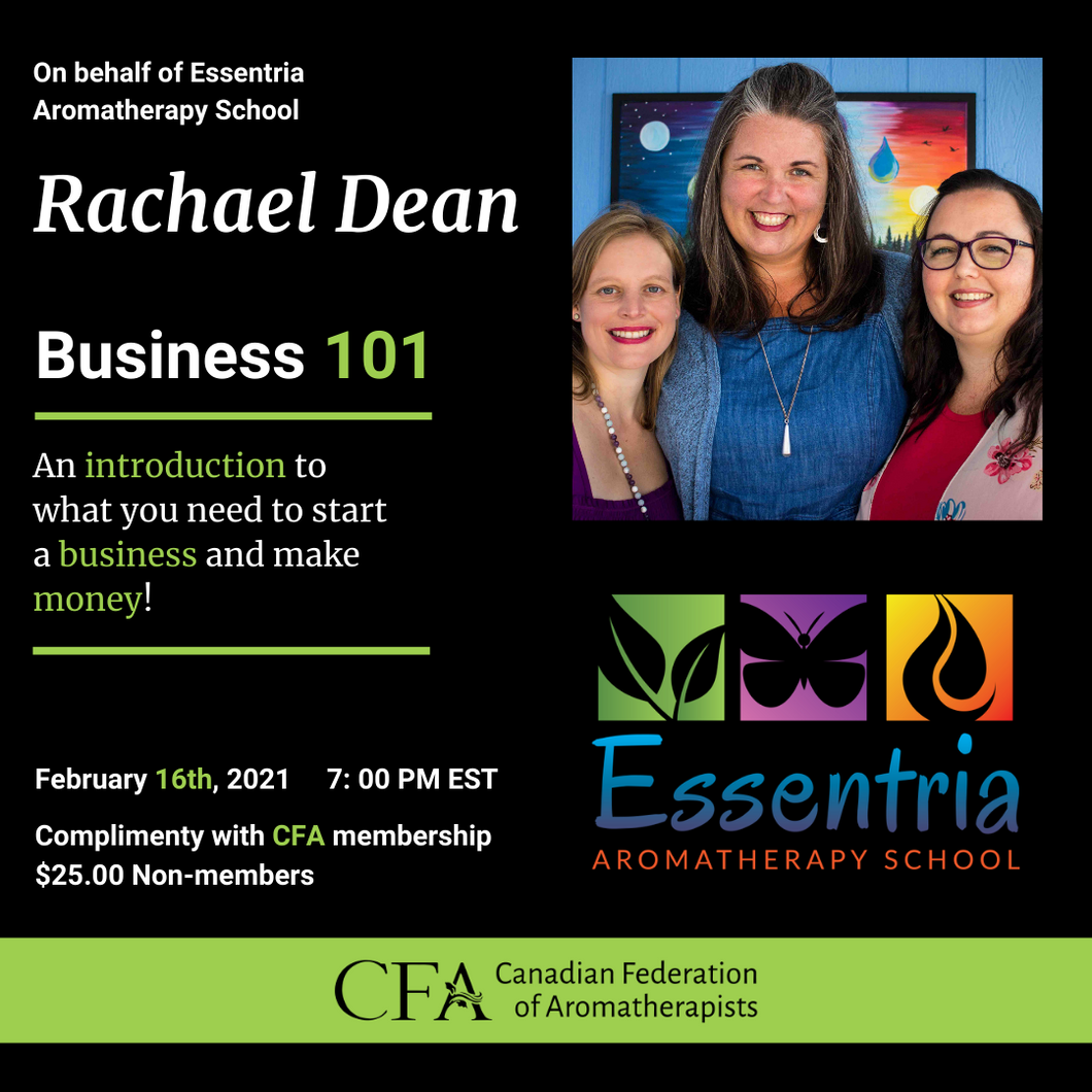 Webinar: Business 101: An introduction to what you need to start a business and make money!