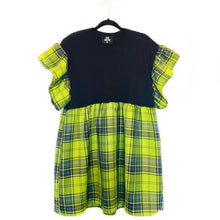 Load image into Gallery viewer, Tartan Ruffle Smock Dress - Choose Any Tartan Fabric