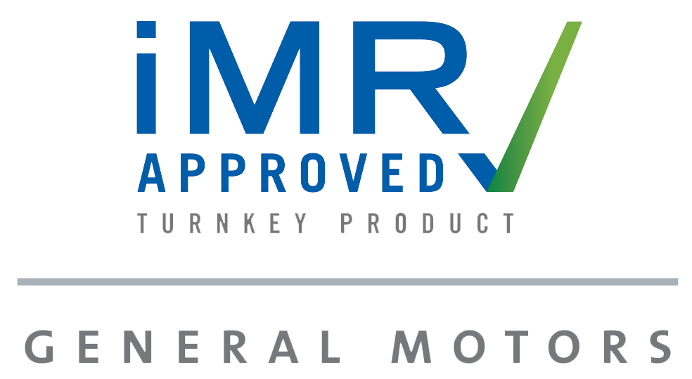 General Motors iMR Approved Turnkey Product