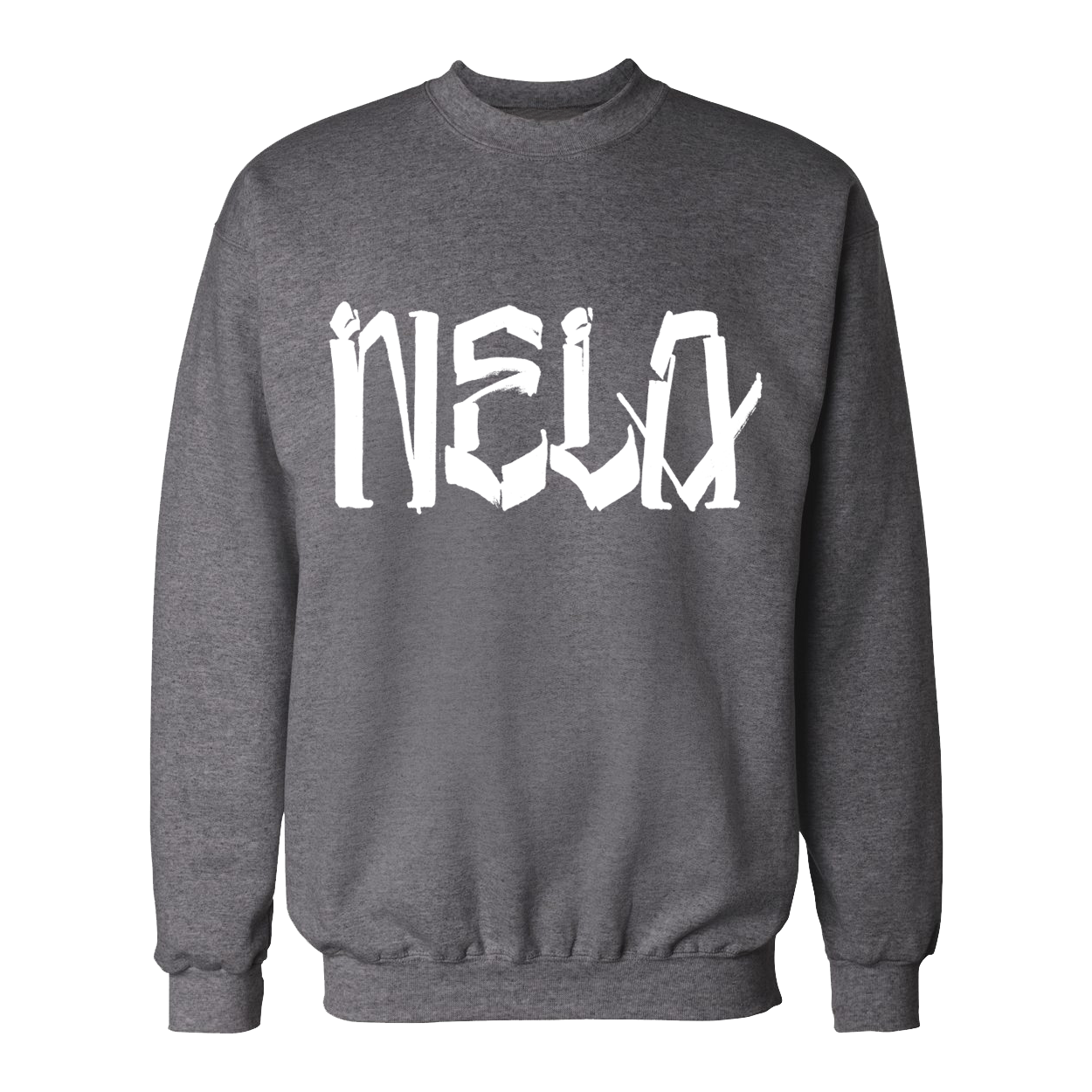 NELA by Chaz - Crew Sweatshirt (Light Steel)