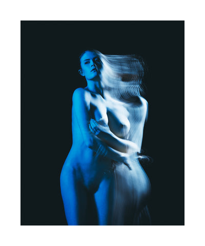 8220Blue Transition8221 2017 Limited edition print