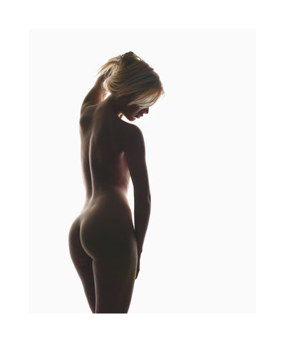 8220Raphaella silhouetted8221 2009 Limited edition print
