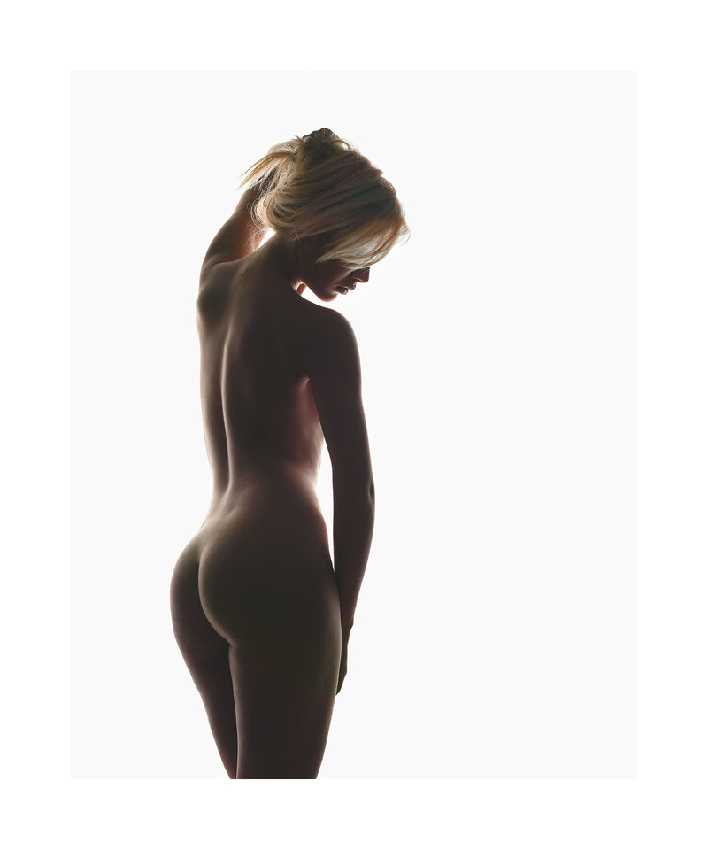 Raphaella silhouetted 2009 Limited edition print