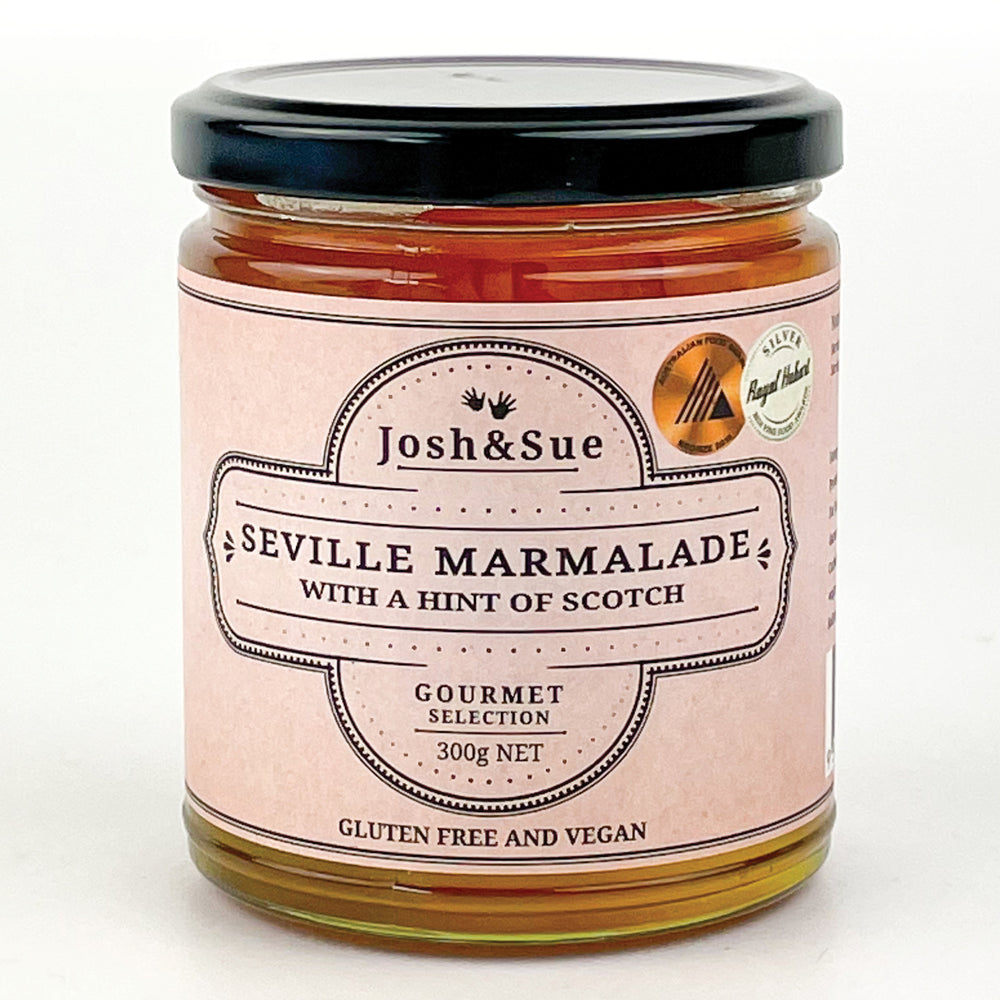 Josh&Sue Seville Marmalade with a hint of Scotch