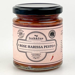 Josh&Sue Rose Harissa Pesto
