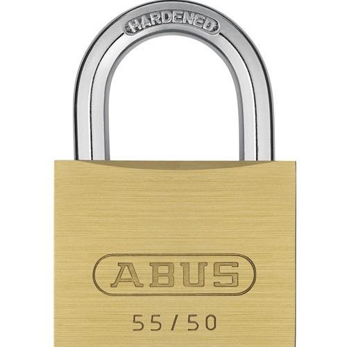 ABUS 55/50 Solid Brass Padlock-AbusLocks.com