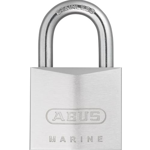 ABUS 75IB/50 Chrome-Plated Solid Brass Padlock-AbusLocks.com
