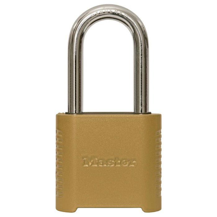 Master Lock 875D 2in (51mm) Wide Set Your Own Combination Padlock with 2in (51mm) Shackle-Combination-HodgeProducts.com