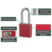 American Lock A1206 1-3/4in (44mm) Solid Aluminum Rekeyable Padlock with 2in (51mm) Shackle-Keyed-HodgeProducts.com