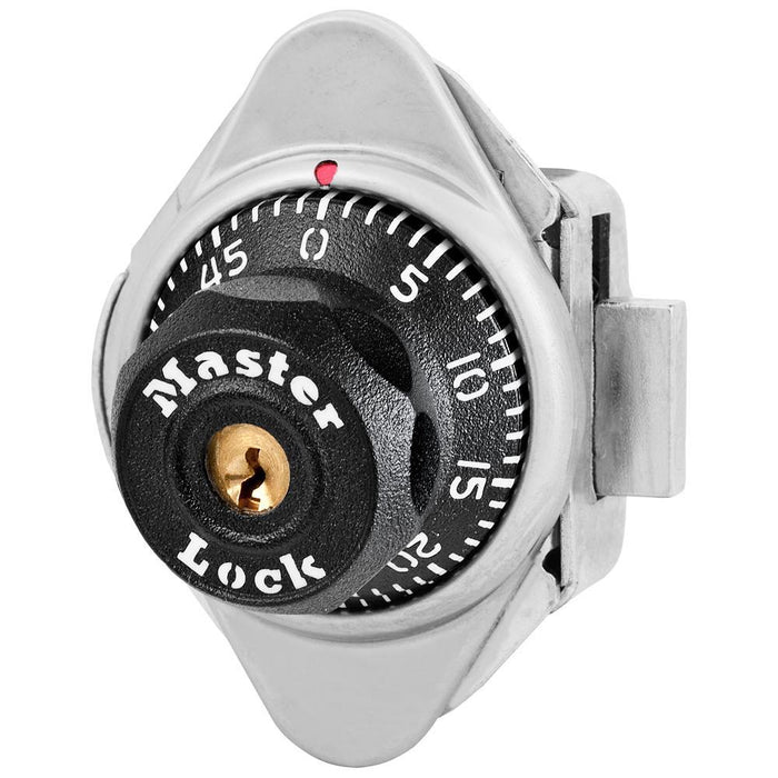 Master Lock 1631 Built-In Combination Lock for Lift Handle Lockers - Hinged on Left-Combination-HodgeProducts.com
