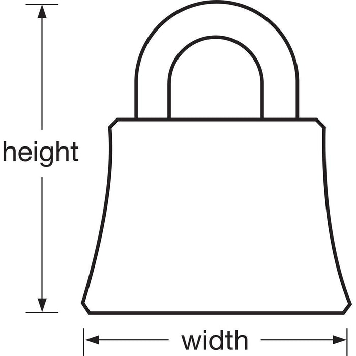 Master Lock 2650 PushKey™ ADA Inspired Padlock 2-3/8in (60mm) Wide-Keyed-HodgeProducts.com