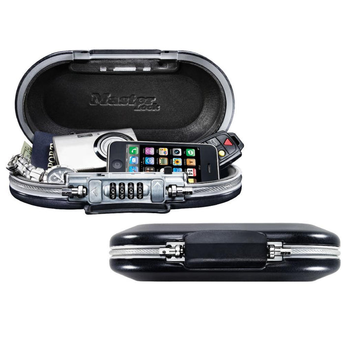 Master Lock 5900D Set Your Own Combination Portable Personal Safe; Gray-Combination-HodgeProducts.com