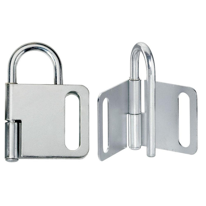 Master Lock 418 Steel Heavy Duty Lockout Hasp, Jaw Clearance 1in (25mm) Wide-Other Security Device-HodgeProducts.com