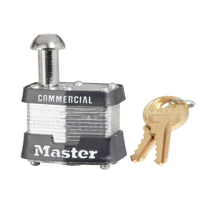 Master Lock 443 Laminated Steel Vending and Meter Padlock 1-9/16in (40mm) Wide-Keyed-HodgeProducts.com