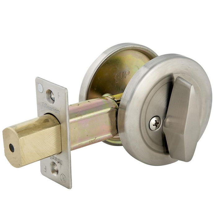 Master Lock DSC0532D One-Sided Cylinder Deadbolt, Commercial Grade 2-Keyed-HodgeProducts.com