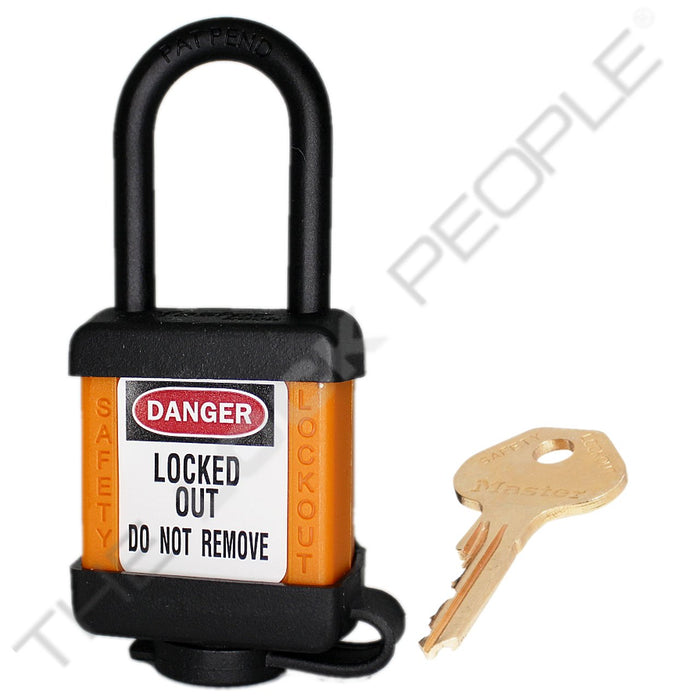 Master Lock 406COV Padlock with Plastic Cover 1-1/2in (38mm) wide