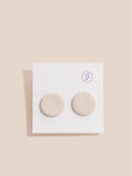 Flat Disc Earrings