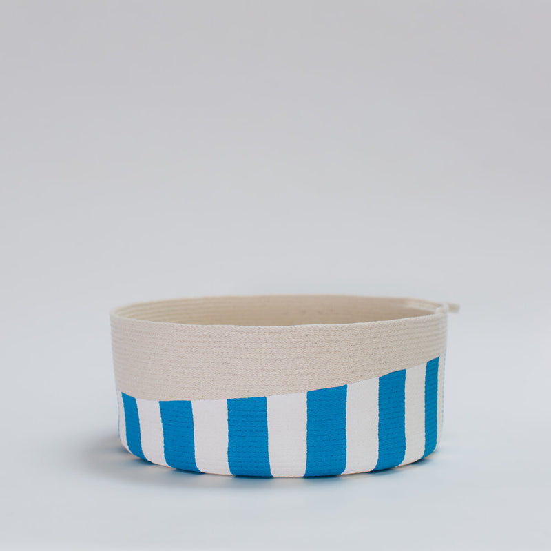 Striped Wide Bin