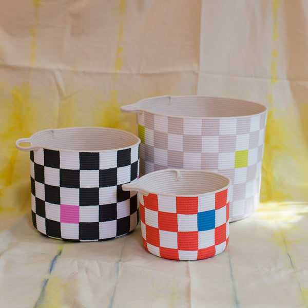 Checkered Baskets