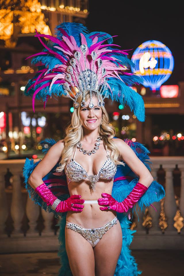 SALE Showgirl Carnival Samba Headpiece