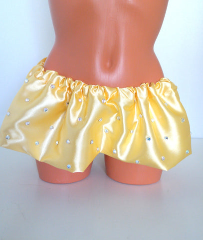 SALE Micro Mini Skirt- Yellow