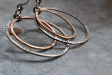 Load image into Gallery viewer, Marti Mix Hoop Earrings MADE TO ORDER